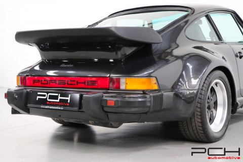 PORSCHE 930 Turbo 3.3 300cv - C22 ORIGINE BELGIQUE -