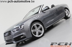 AUDI A5 Cabriolet 3.0 TDi V6 Quattro S-Line S-Tronic **FULL OPTIONS**