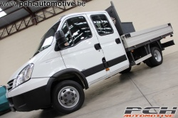 IVECO Daily 50C35 145cv **DOUBLE CABINE + PLATEAU RIDELLE**