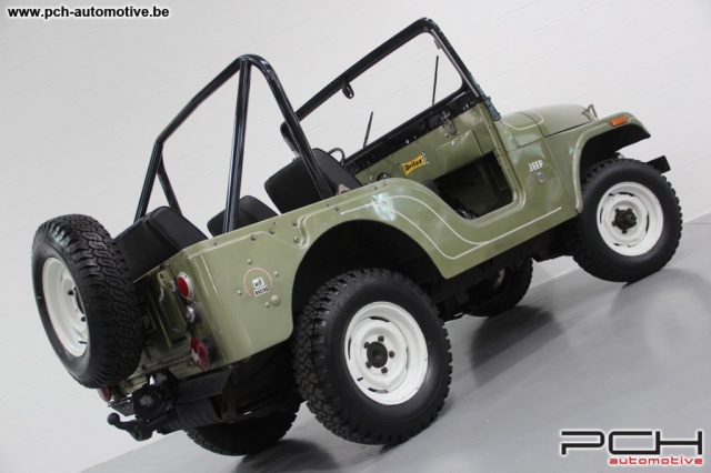 jeep cj 5 3 8 v6 sortie de grange pch automotive. Black Bedroom Furniture Sets. Home Design Ideas
