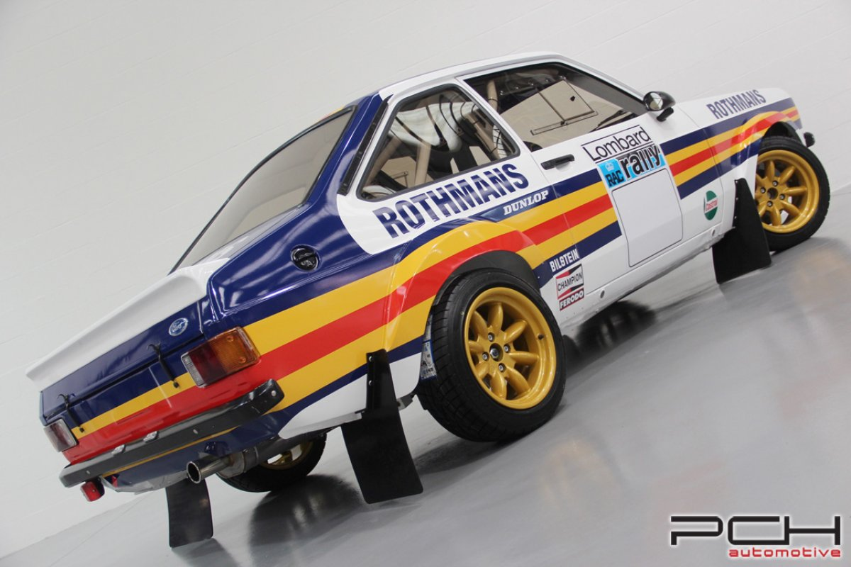 FORD Escort MKII Groupe 4 Moteur Pinto