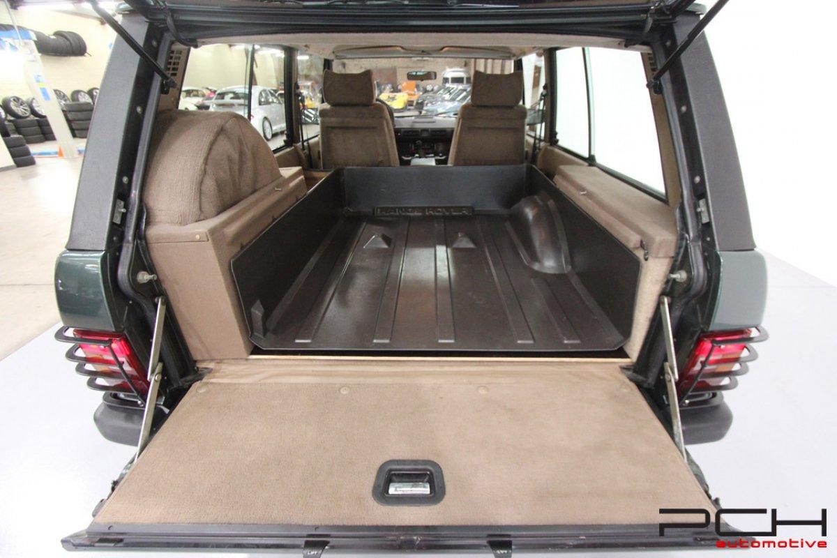 land rover range-rover classic 3 9i efi v8 3 doors
