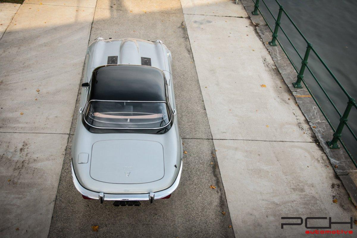 jaguar e-type cabriolet s u00e9rie iii v12 manual gearbox