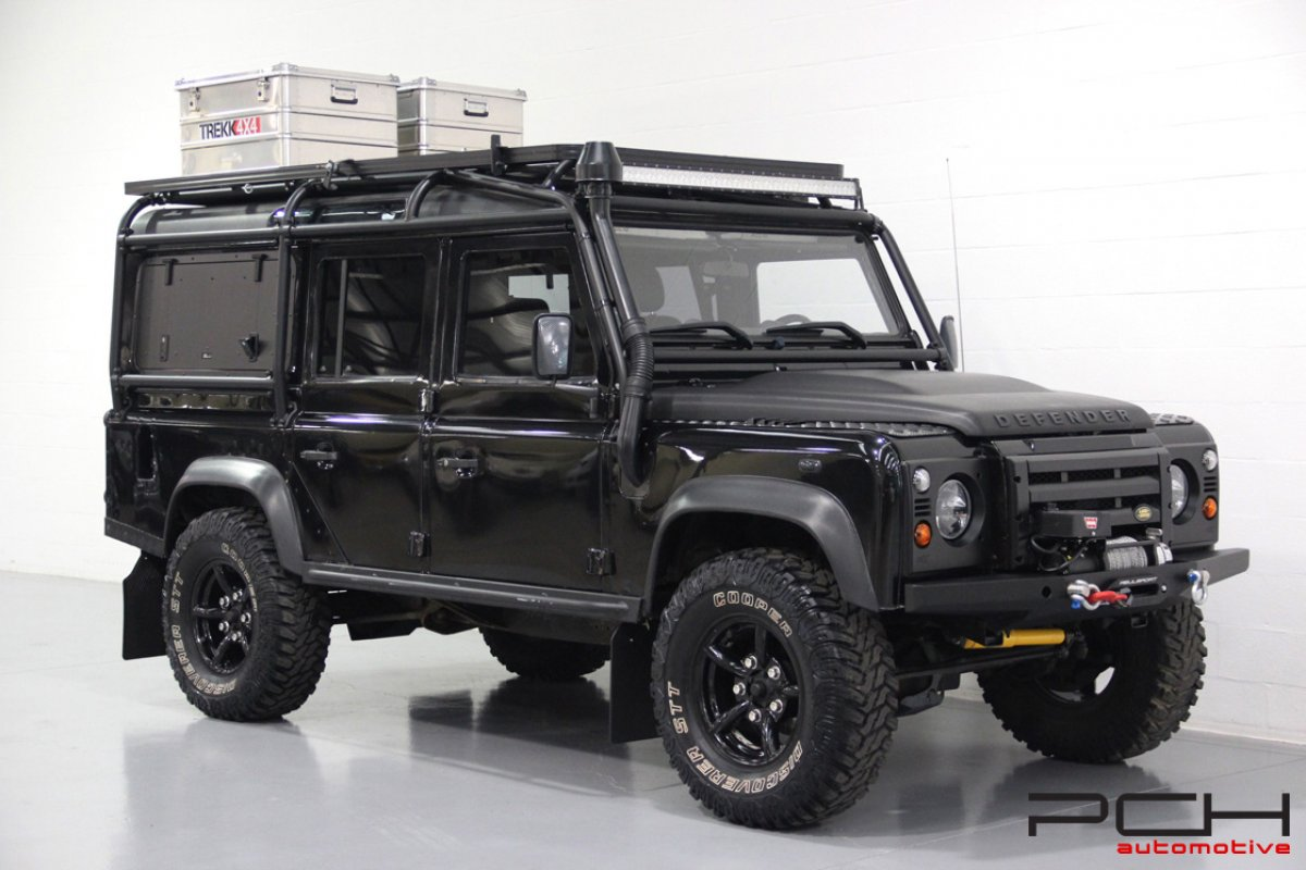 land rover defender 110 td4  u0026quot raid specifications u0026quot