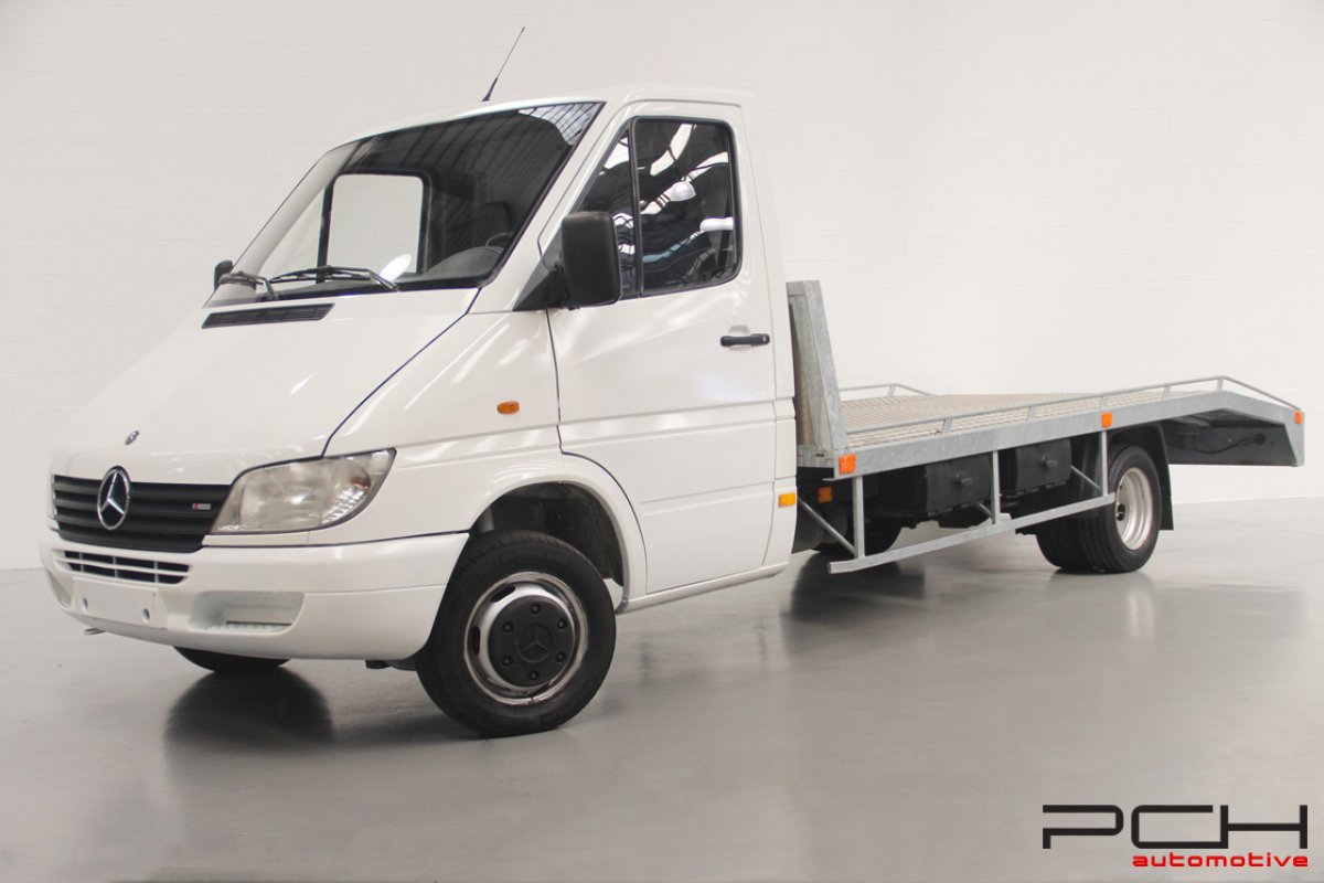 mercedes benz sprinter 411 cdi jumele pch automotive. Black Bedroom Furniture Sets. Home Design Ideas