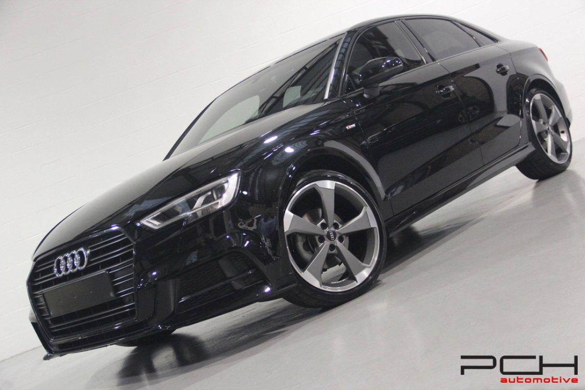 audi a3 berline 2 0 tdi 150cv s line s tronic full options pch automotive. Black Bedroom Furniture Sets. Home Design Ideas