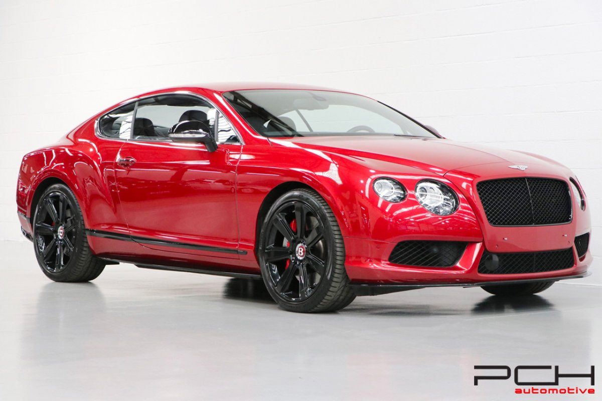 BENTLEY Continental GT V8 S 528cv - Concours Series - Black Specifications -